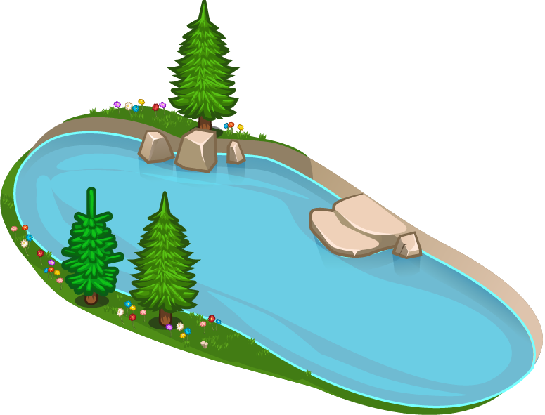 Lake clipart transparent #8