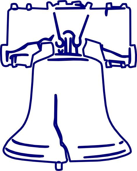 Lakeside Liberty Bell clip art