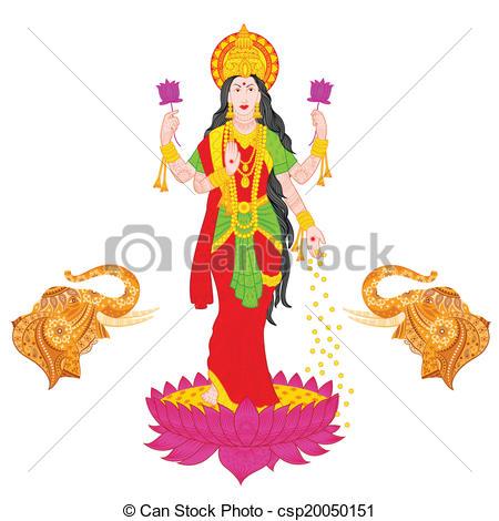 Goddess Lakshmi - csp20050151