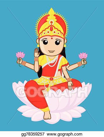 Goddess of Wealth - Maa Laxmi