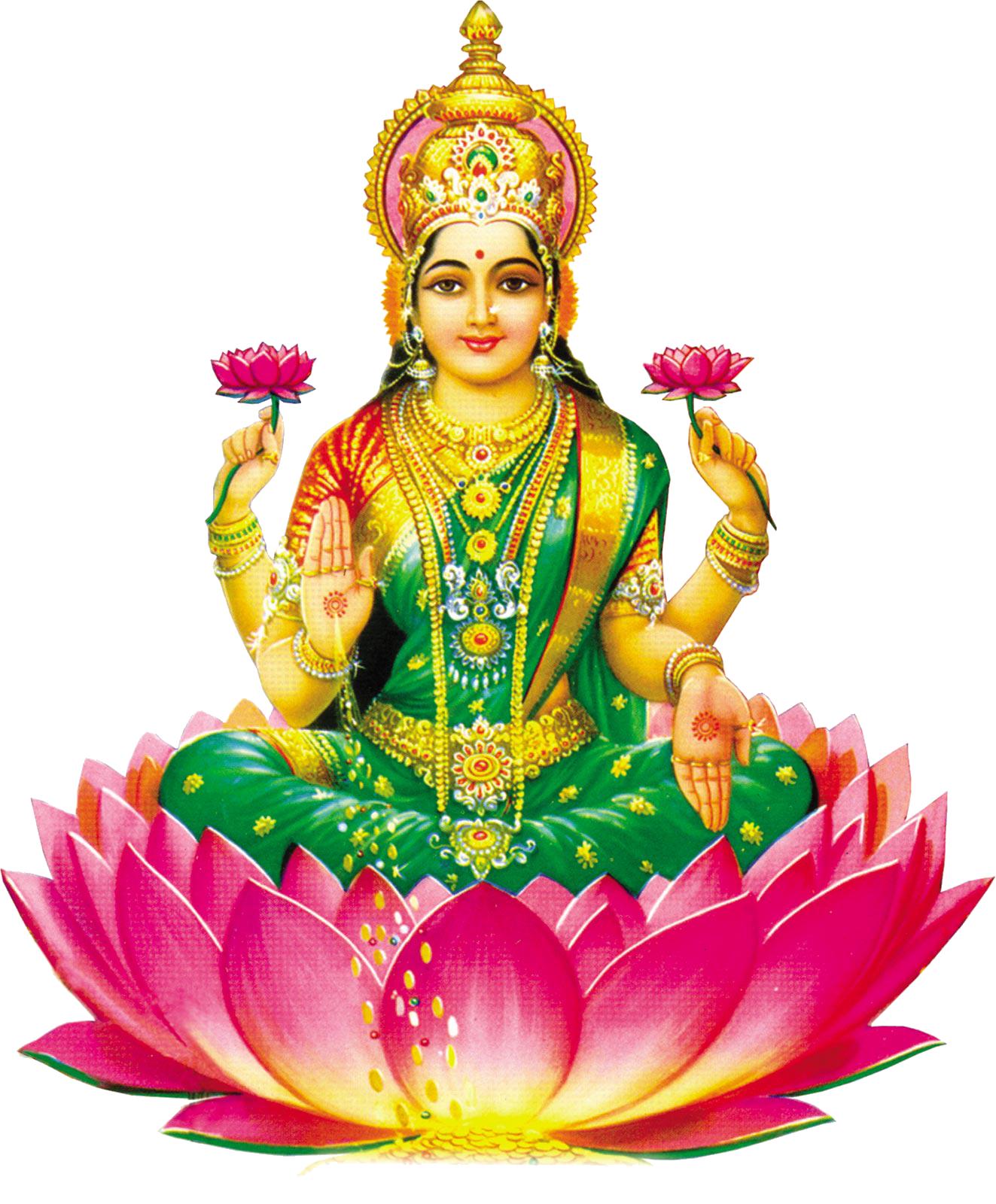 Lakshmi Picture PNG Image