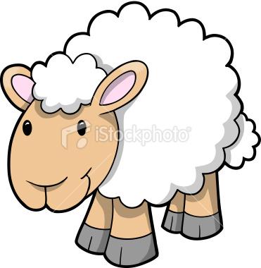 Lamb Clip Art Sheep Clip Art Cute Cartoon Baby Lambs Sheep Coloring