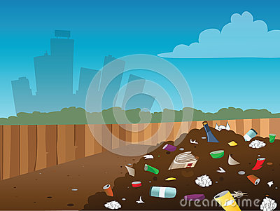 Landfill Stock Illustrations u2013 964 Landfill Stock Illustrations, Vectors u0026  Clipart - Dreamstime