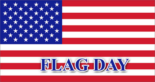 large Flag Day American Flag