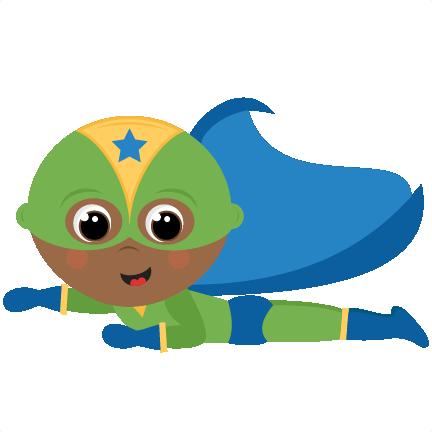 Large Flying Superhero Boy Png