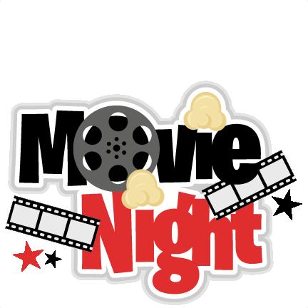 Large Movie Night Title6 Png u0026middot; Kids Movie Night Clipart .