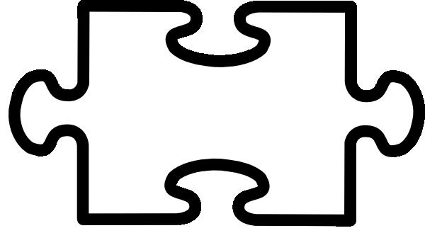 Large Puzzle Piece Template ...