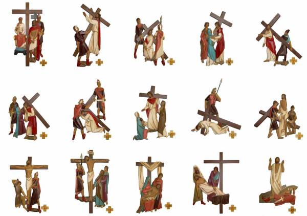 Large Stations of the Cross (Ref: 5499)