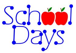 ... Last school days clipart ...