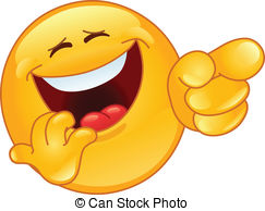 ... Laughing and pointing emoticon Laughing and pointing emoticon Clipartby ...