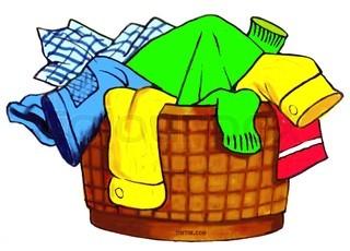 laundry hamper clipart