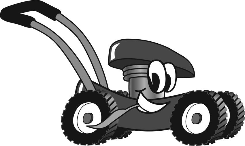 Lawn Mower Clip Art Free Clipart Best
