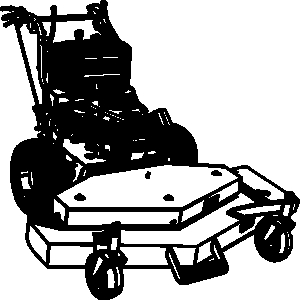 Lawn mower ofpicture images walk behind mower clipart