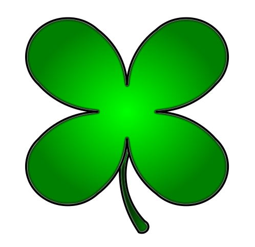 Leaf Clover Clip Art Free Four Leaf Clover Clip Art