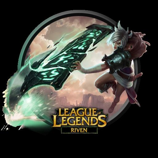 League Of Legends Riven Icon