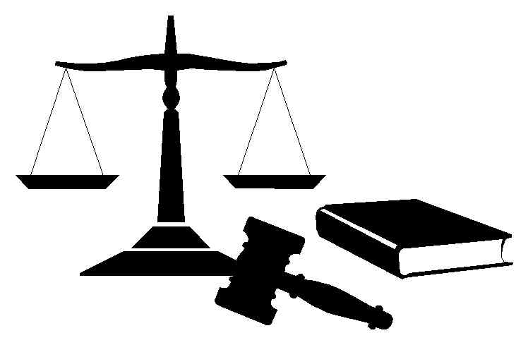 Legal Scales - law clipart