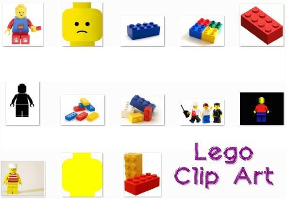 Lego Clip Art Lot of 13 - Itu0026#39;s Free! : ScrapPNG, Transparent PNG Graphics   LEGO   Pinterest   Lego, Clip art and Graphics