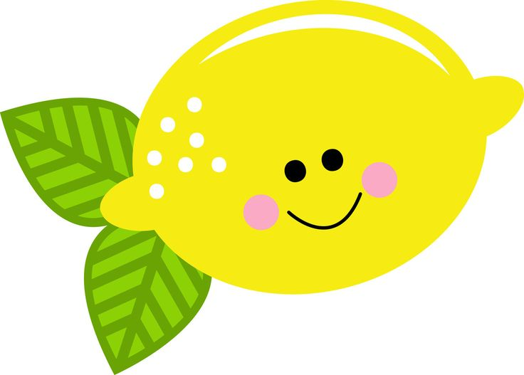 cute lemon clipart
