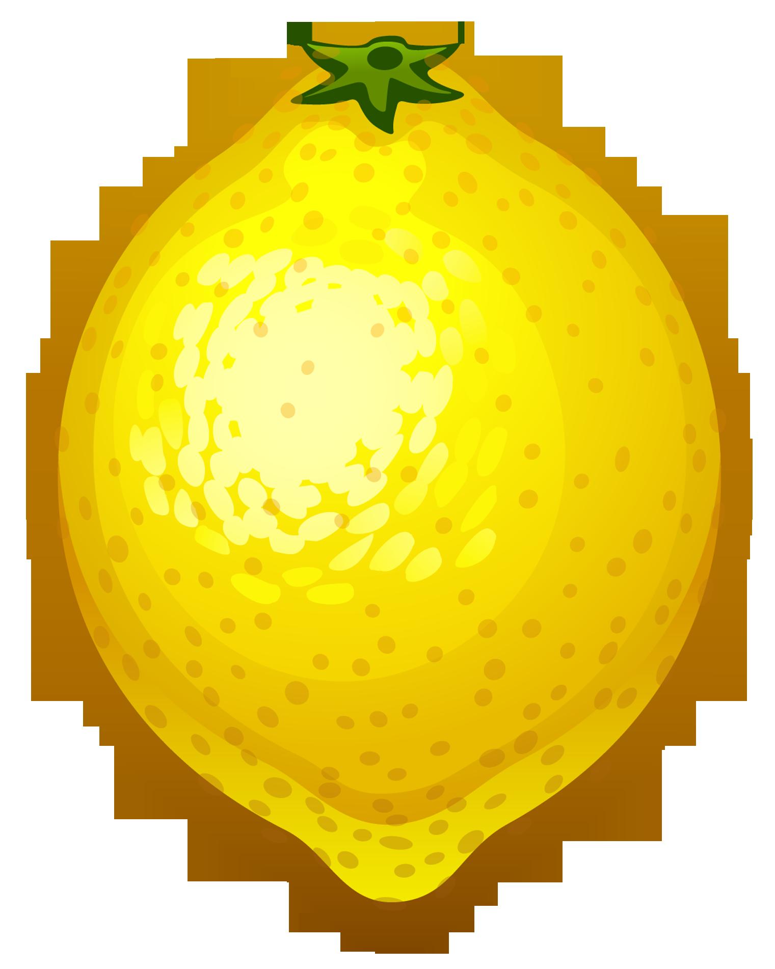 Lemon clipart 3