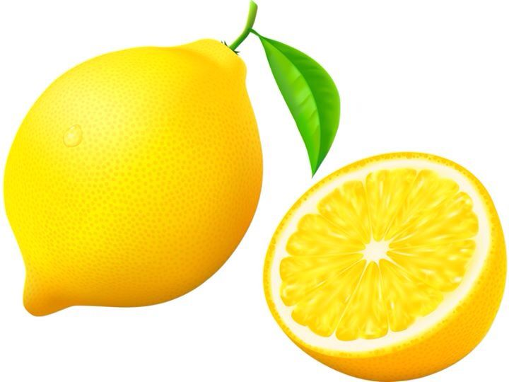Lemon clipart fruit #4