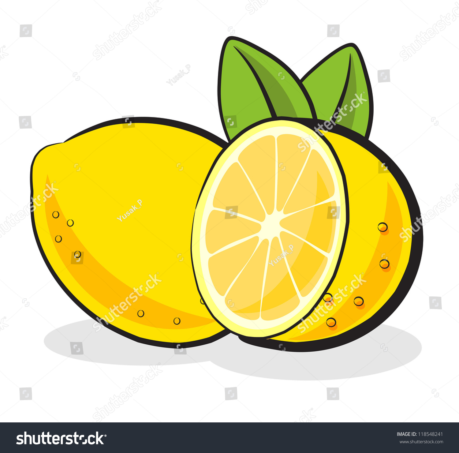 Lemon clipart small #3