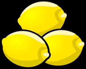 Lemons Clip Art