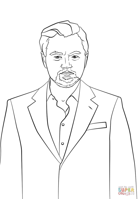 Click the Leonardo DiCaprio hdclipartall.com