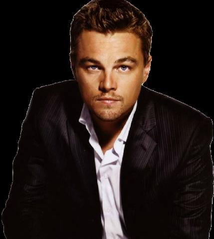 Leonardo DiCaprio PNG File