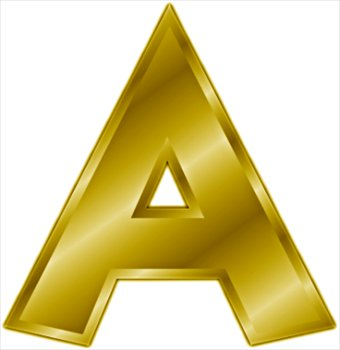 Letter A Clip Art - Clipart library