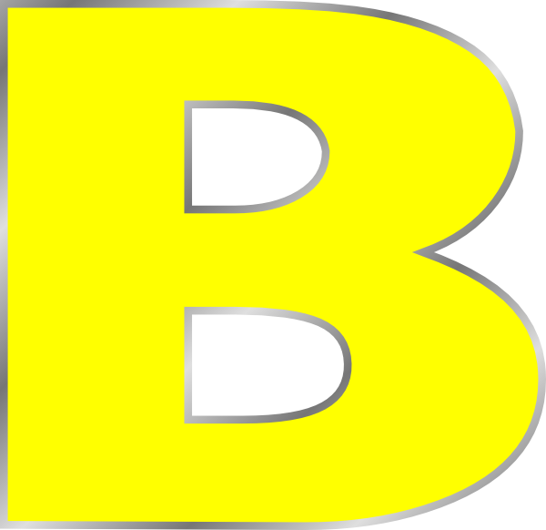 Letter B Clip Art At Clker Com Vector Clip Art Online Royalty Free