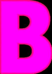 Letter B Clip Art