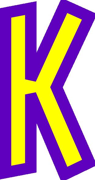 Letter K Clip Art At Clker Com Vector Clip Art Online Royalty Free