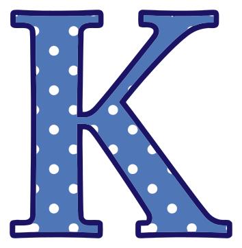 ... Letter K Clipart; Letter K ...