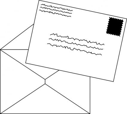 Letters clip art