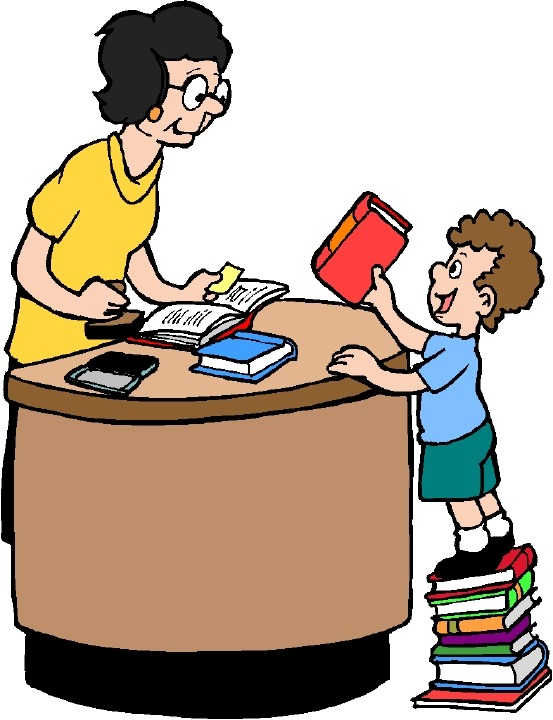 Library Clip Art Kids Books Computers   Clipart library - Free