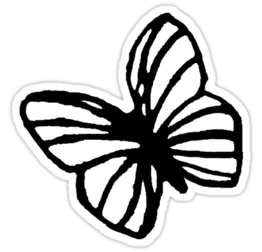 Life is Strange butterfly, Hollow. / Check my profile for filled version. /  Not buying this sticker will have consequencesu0026#8230; u2022 Also buy this  artwork on ClipartLook.com
