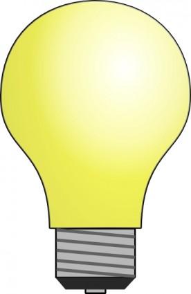 Light Bulb Clip Art Free Vector 74 83kb