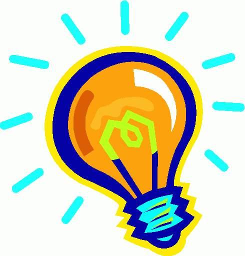 Light bulb lightbulb clipart clipartwiz 2
