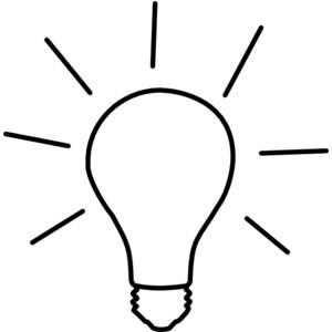 Light Clip Art - Light Bulb Clip Art