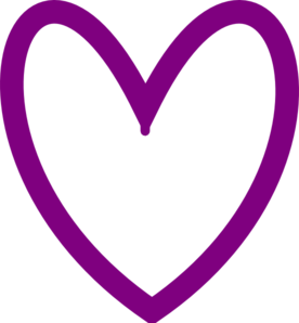 ... Light Purple Heart Clipart - Free Clipart Images