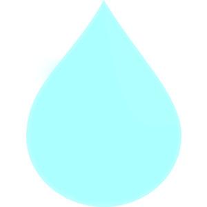 Light Raindrop clip art