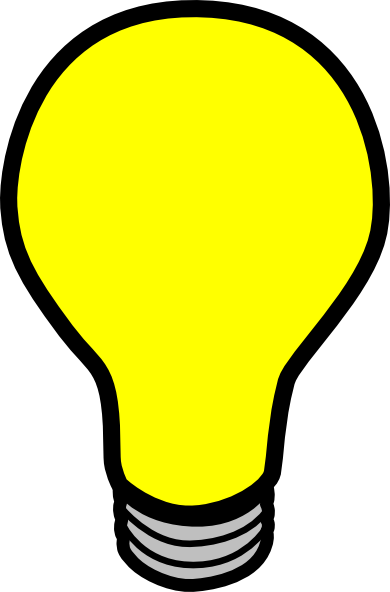 Lightbulb Clipart this image as: