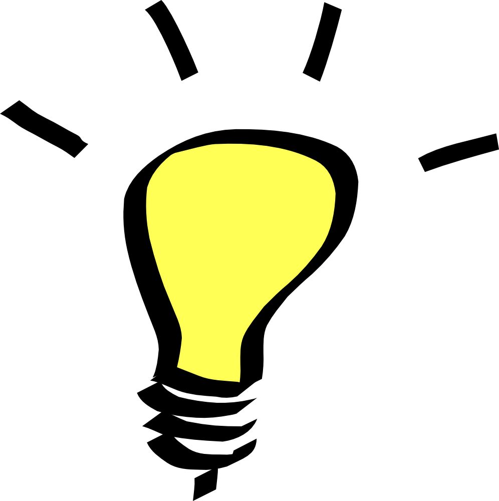 Light Bulb Clip Art #472