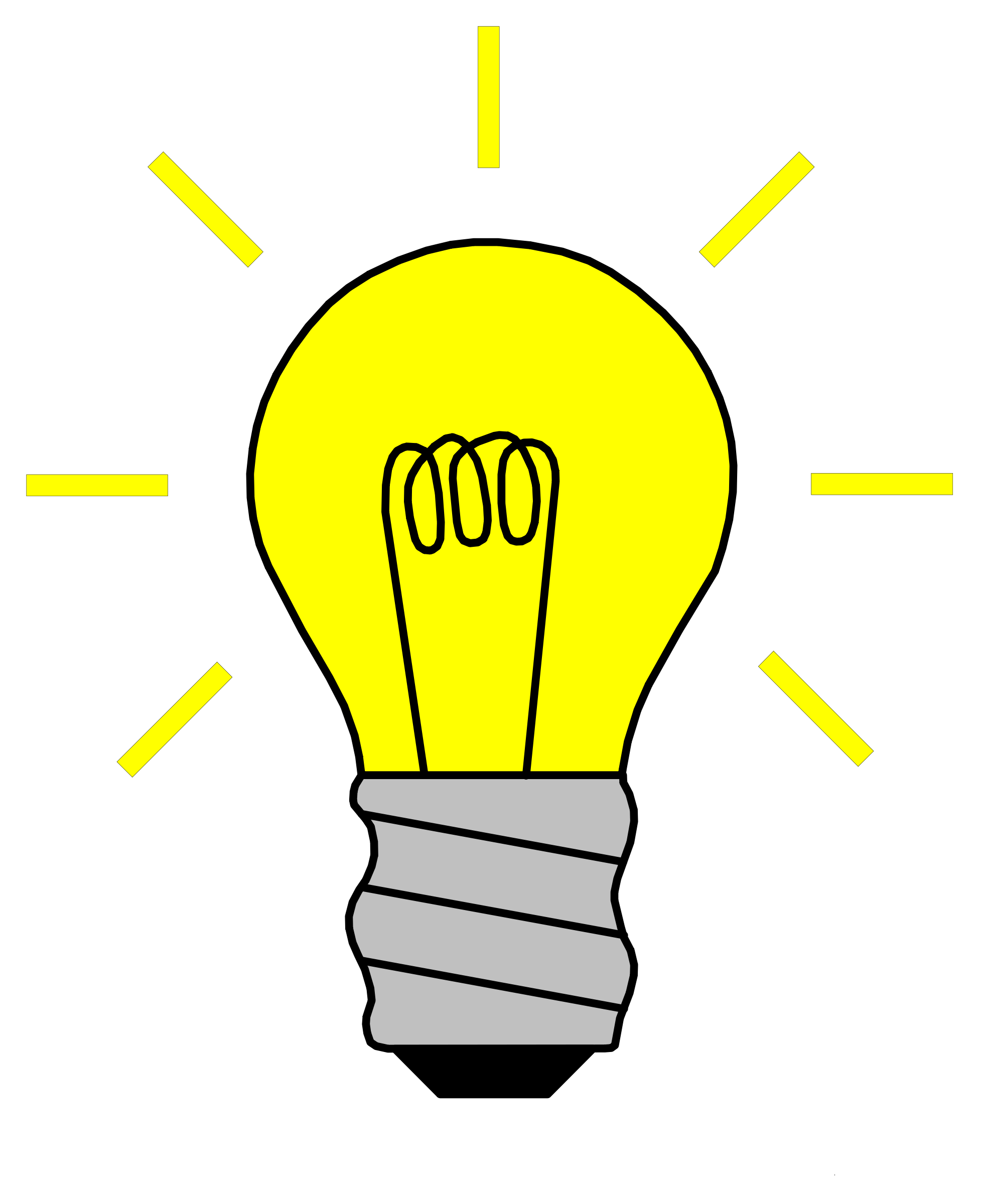 Light bulb clip art for kids free clipart images