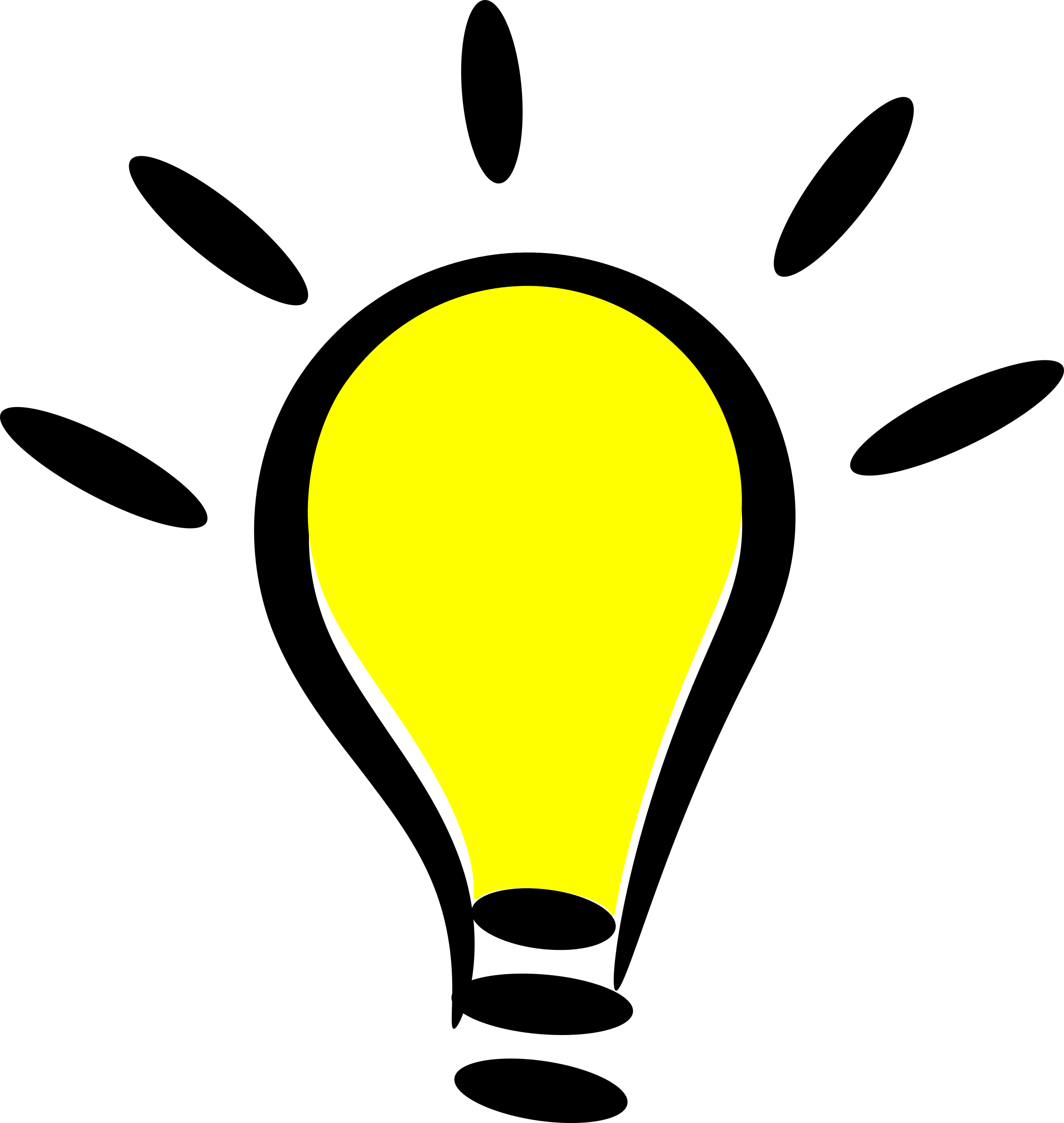 Light bulb lightbulb clipart free clipart images hdclipartall