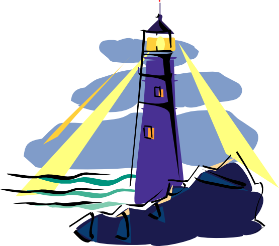 Lighthouse Clip Art Cute Lighthouse Clipart Free Images Clipartandscrap  Templates