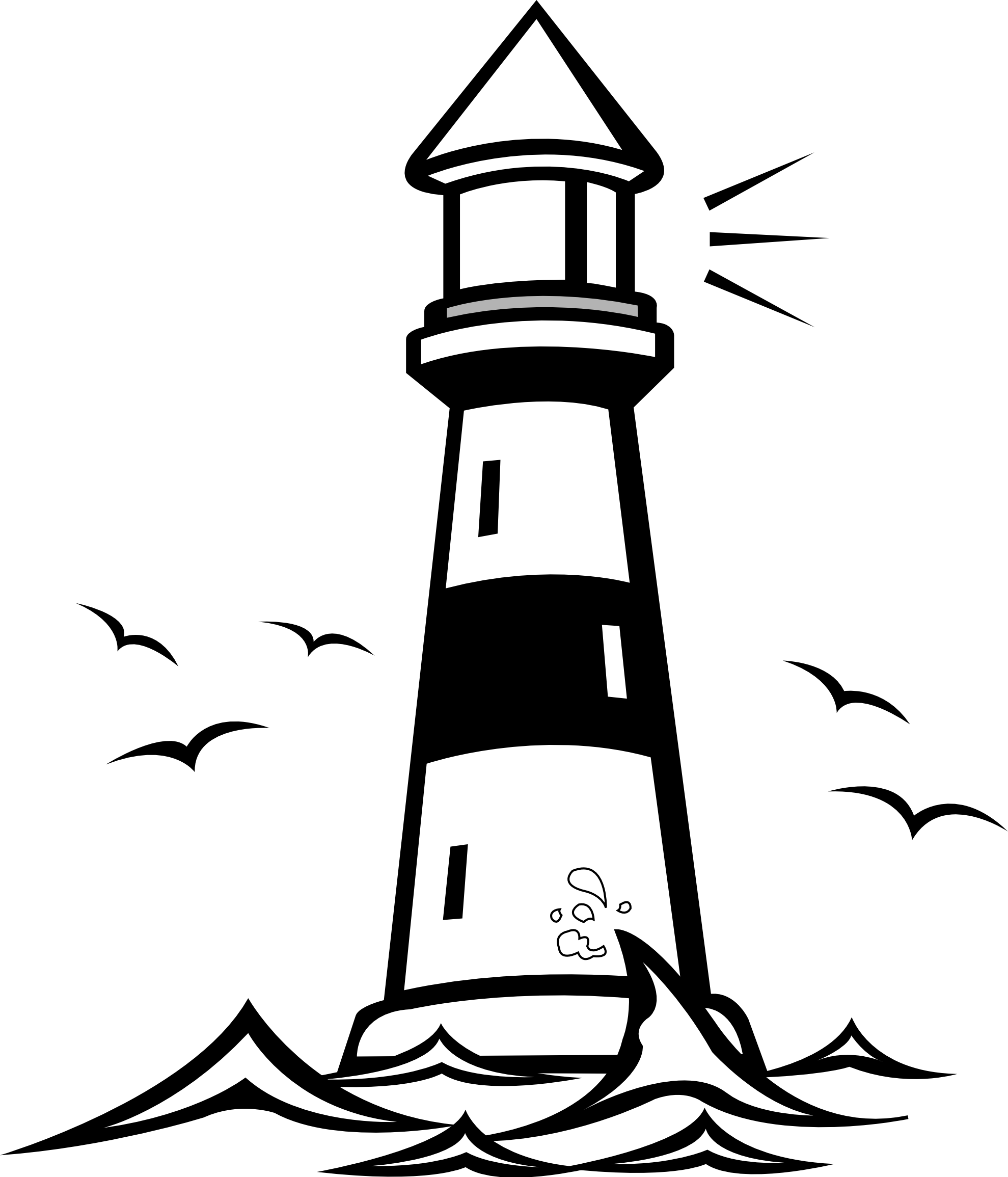 Lighthouse Clipart #1