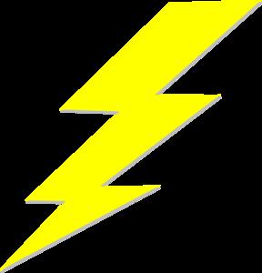 Lightning Bolt Clip Art At Clker Com Vector Clip Art Online Royalty