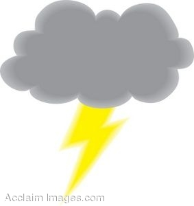 Lightning Weather Clipart #1