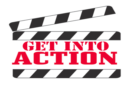 ... Lights Camera Action Clipart ...